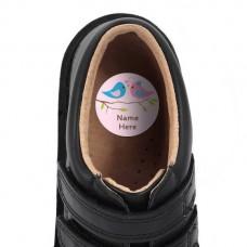 Two Birds Shoe Dot Label