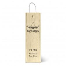 NRL Cowboys Single Wine Box