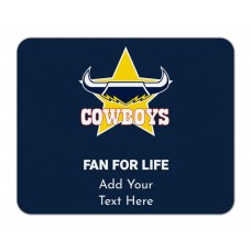 NRL Cowboys Mouse Mat
