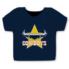 NRL Cowboys Jersey Stubby Cooler