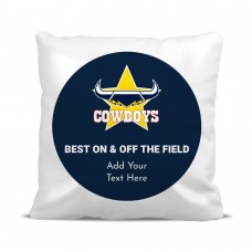 NRL Cowboys Cushion Cover