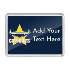 NRL Cowboys Fridge Magnet