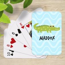 Crocodile Playing Cards