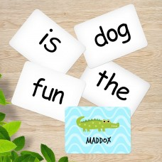 Crocodile Sight Word Cards