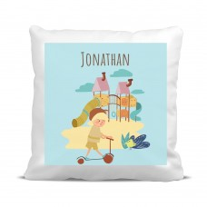 My Adventure - Playground Boy Cushion Cover