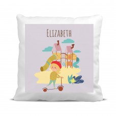 My Adventure - Playground Girl Cushion Cover
