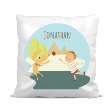 My Adventure - Playing Ball Boy Cushion Cover