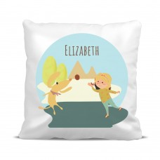 My Adventure - Playing Ball Girl Cushion Cover