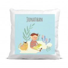 My Adventure - Reading Boy Cushion Cover