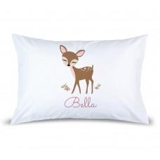 Cute Deer Pillow Case