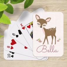 Cute Deer Playing Cards