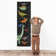 Dinosaur Wall Decal Height Chart