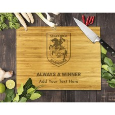 NRL Dragons Bamboo Cutting Board