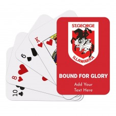 NRL Dragons Playing Cards