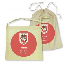 NRL Dragons Library Bag