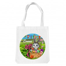 Easter Bunny White Tote Bag