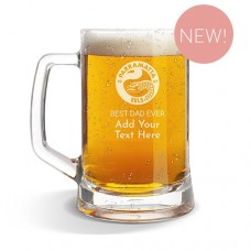 NRL Eels Glass Beer Mug
