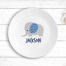 Elephant Kids' Plate