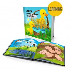 """""""Learns to Count"""" Personalised Story Book"""