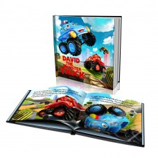 """The Monster Truck"" Personalised Story Book"