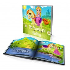 """The Princess and the Pony"" Personalised Story Book"
