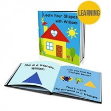 """""""Learn Your Shapes"""" Personalised Story Book"""