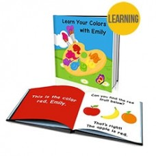 """""""Learn Your Colours"""" Personalised Story Book"""