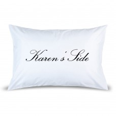Female Side Pillow Case