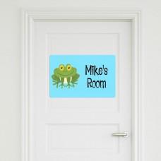 Frog Door Sign