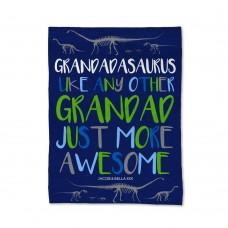 Grandadasaurus Blanket