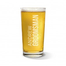 Groomsman Pint Glass