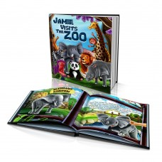 """Visits the Zoo"" Personalised Story Book"