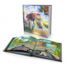 """The Magic Train"" Personalised Story Book"
