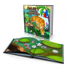 """Jungle Adventure"" Personalised Story Book"