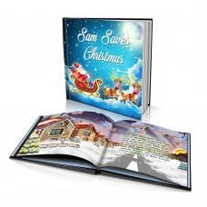 """Saving Christmas"" Personalised Story Book"