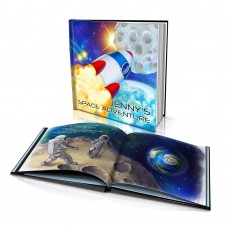 """Space Adventure"" Personalised Story Book"
