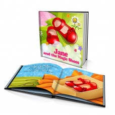 """The Magic Shoes"" Personalised Story Book"