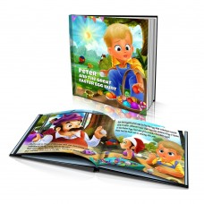 """Great Easter Egg Hunt"" Personalised Story Book"