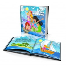 """The Mermaids"" Personalised Story Book"