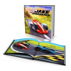 """""""The Speedster"""" Personalised Story Book"""
