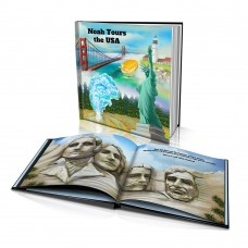 "Personalised Story Book: ""Tours the USA"""