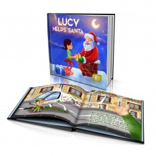 """Helping Santa"" Personalised Story Book"