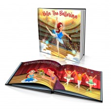 """""""The Ballerina"""" Personalised Story Book"""