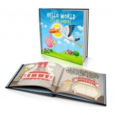 "Personalised Story Book: ""Hello World"""