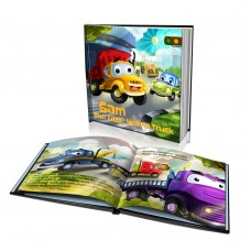 """""""The Little Yellow Truck"""" Personalised Story Book"""