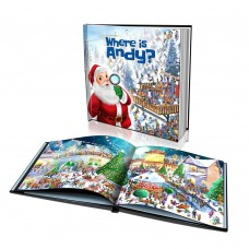 """Where is Santa?"" Personalised Story Book"