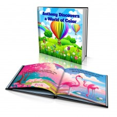 """Personalized Story Book: """"Discovers a World of Color"""""""