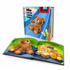 "Personalised Story Book: ""The Talking Teddy"""