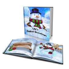 "Personalised Story Book: ""The Magical Snowman"""