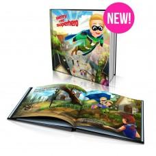 """The Superhero"" Personalised Story Book"